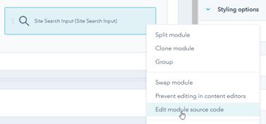 HubSpot Edit Module Source Code
