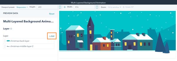HubSpot Multi-Layered Animation