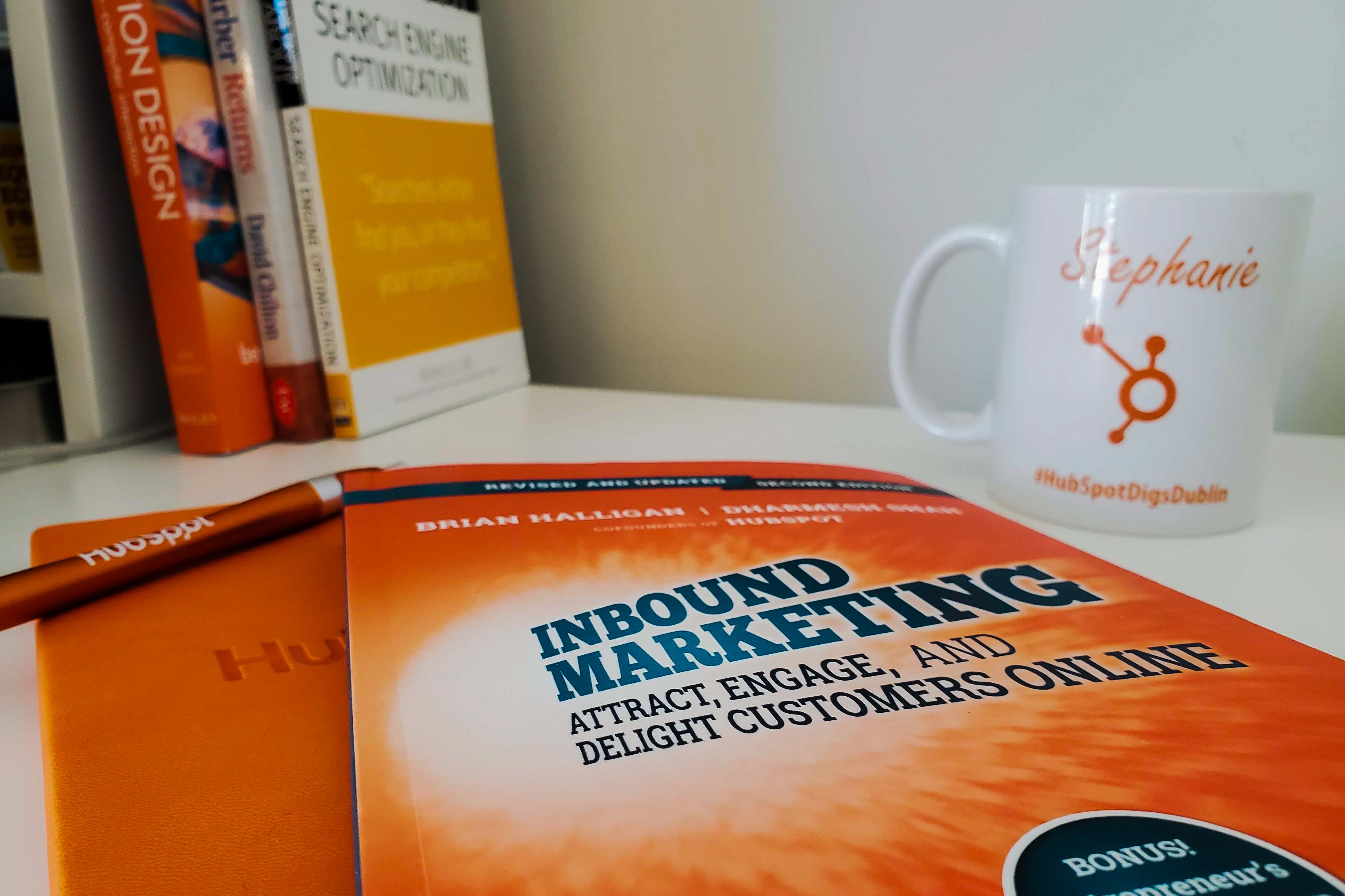 HubSpot Inbound Marketing book by Brian Halligan and Dharmesh Shah